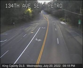 Traffic camera: SE Petrovitsky Rd at 134th Ave SE