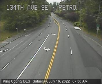 Traffic camera: SE Petrovitsky Road at 134th Ave SE