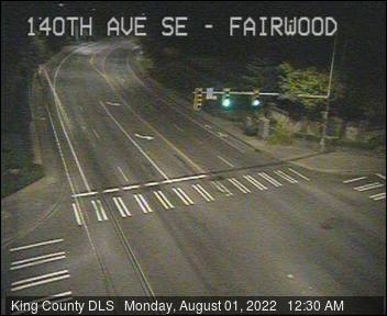 Traffic camera: 140th Ave. S.E. at S.E. Fairwood Blvd.