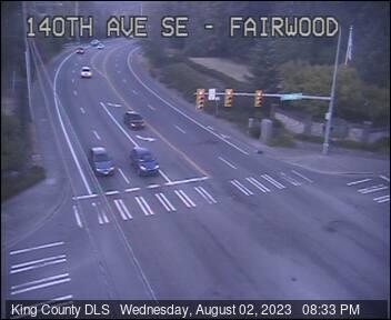 Traffic camera: 140th Ave SE at SE Fairwood Blvd