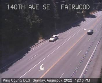 Traffic camera: 140th Ave SE at SE Fairwood Blvd