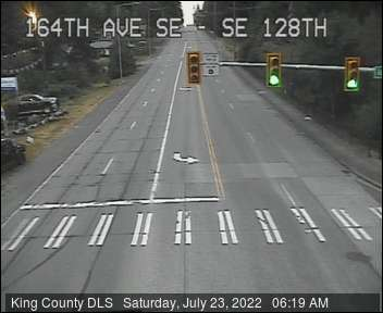 Traffic camera: SE 128th St at 164th Ave SE