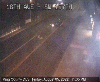 Traffic camera: 16th Ave SW at SW 107th St