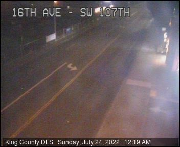 Traffic camera: 16th Ave. S.W. at S.W. 107th St.