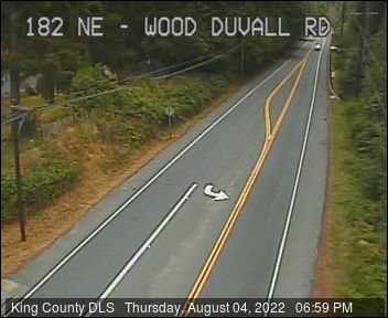 Traffic camera: NE Woodinville Duvall Rd at 182nd Ave NE