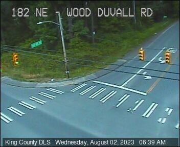 Traffic camera: NE Woodinville Duvall Rd at 182nd Ave NE