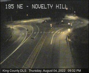 195th Avenue NE at NE Novelty Hill Road