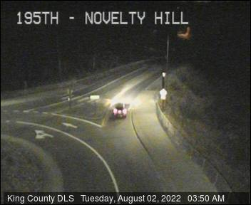 Traffic camera: 195th Ave NE and Novelty Hill Rd