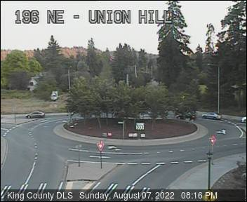 Traffic camera: 196th Ave NE at Union Hill Rd