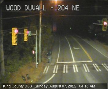 Traffic camera: 204th Ave NE and ne Woodinville Duvall Rd