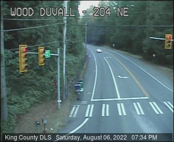 Traffic camera: NE Woodinville-Duvall Road at 204th Ave NE