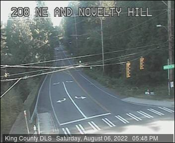 Traffic camera: NE Novelty Hill Road at 208th Ave NE - North side