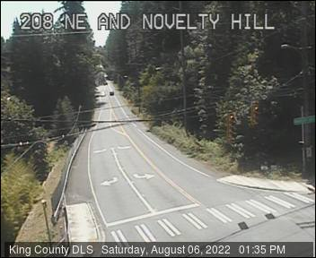 Traffic camera: Novelty Hill Road at 208th Ave. N.E. (north side)