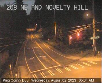 Traffic camera: NE Novelty Hill Road at 208th Ave NE - North side