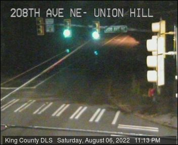Traffic camera: NE Union Hill Road and 208th Ave NE