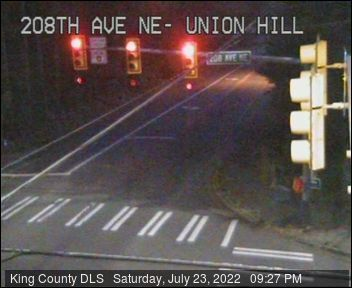 Traffic camera: N.E. Union Hill Road and 208th Ave. N.E.