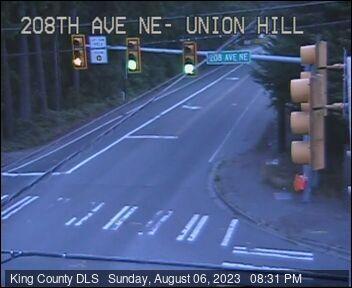Traffic camera: NE Union Hill Road and 208th Ave NE