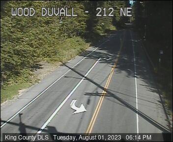 Traffic camera: NE Woodinville-Duvall Rd NE at 212th Ave NE