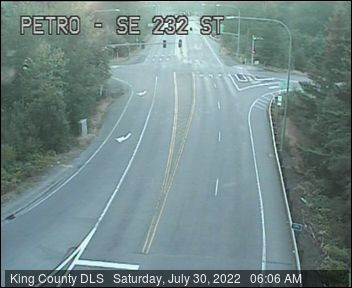 Traffic camera: SE Petrovitsky Road at SE 232nd St - Southeast corner
