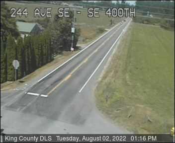 Traffic camera: 244th Ave SE at SE 400th St