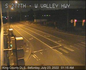 Traffic camera: S 277th St at West Valley Hwy