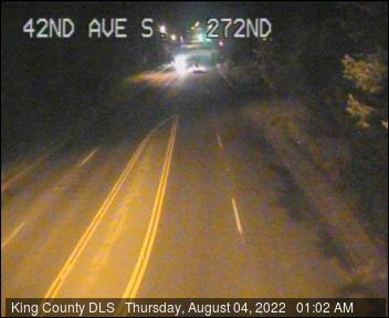 Traffic camera: S 272nd St at 42nd Ave S