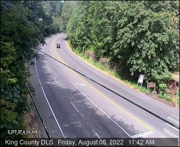 Traffic camera: S 277th St at  55th Ave S