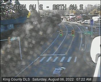 Traffic camera: Renton Ave S at 68th Ave S