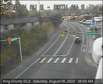 Renton Avenue S at 68th Avenue S