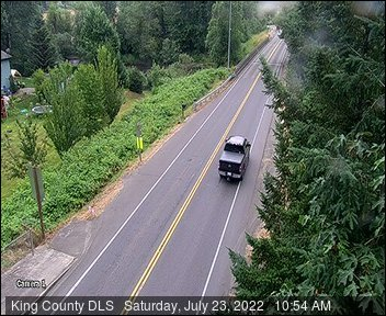 Traffic camera: Auburn Black Diamond Rd at SE Lake Holm Rd