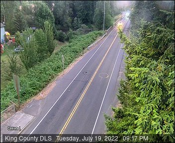 Traffic camera: SE Auburn-Black Diamond Rd at SE Lake Holm Rd