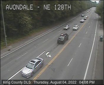 Traffic camera: Avondale Rd NE at NE 128th St