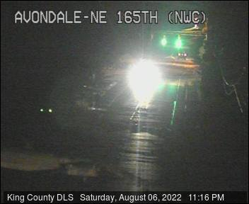 Traffic camera: Avondale Rd NE & NE 165th St, NW corner
