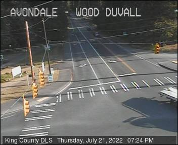 Traffic camera: Woodinville-Duvall Road at Avondale Road