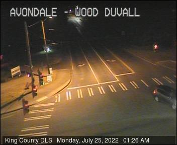 Traffic camera: NE Woodinville-Duvall Road at Avondale Road