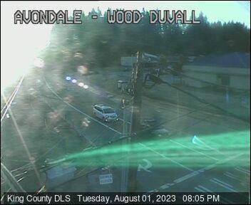 Traffic camera: Avondale Rd NE & Woodinville-Duvall Rd, SE corner