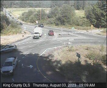 Traffic camera: Carnation-Duvall Road NE (SR-203) at NE 124th St