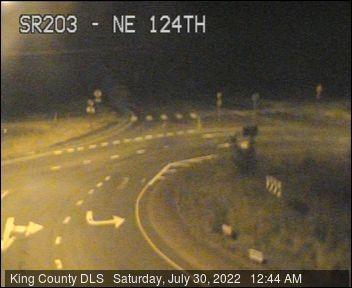 Traffic camera: Carnation-Duvall Road NE (SR-203) at NE 124th St