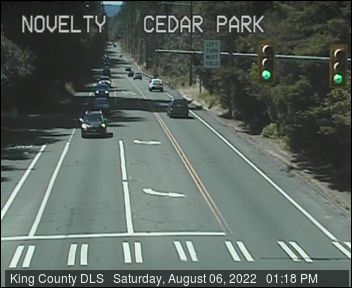 Traffic camera: NE Novelty Hill Road at Cedar Park Crescent NE