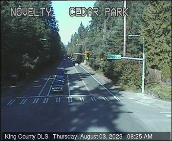 Traffic camera: NE Novelty Hill Road at Cedar Park Crescent NE