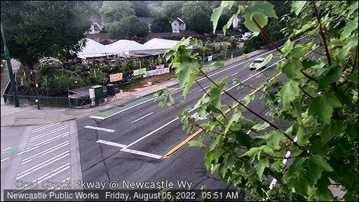 Traffic camera: Coal Creek Parkway at Newcastle Way