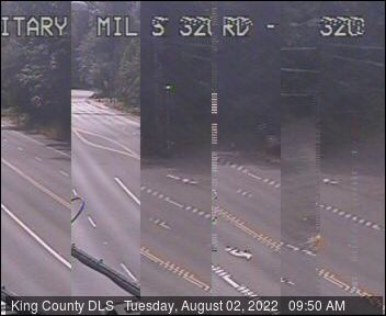 Traffic camera: Military Road S at S 320th St