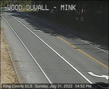 Traffic camera: NE Woodinville-Duvall Road at Mink Road NE - Northeast corner