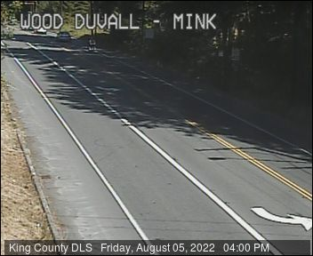 Traffic camera: Woodinville-Duvall Road at Mink Road NE (northeast corner)
