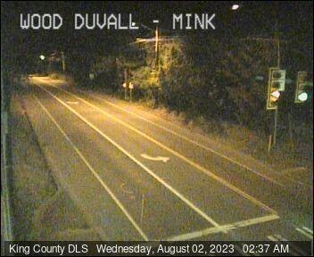 Traffic camera: NE Woodinville-Duvall Road at Mink Road NE - Northeast corner