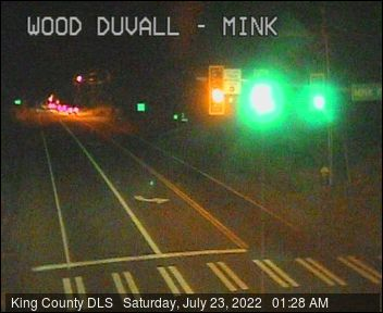 Traffic camera: NE Woodinville-Duvall Road at Mink Road NE - Northwest corner