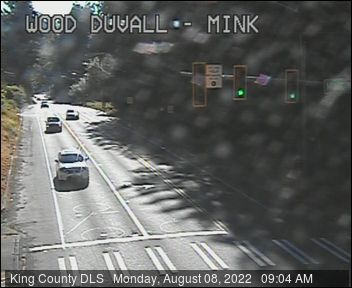Traffic camera: Woodinville-Duvall Road at Mink Road NE (northwest corner)