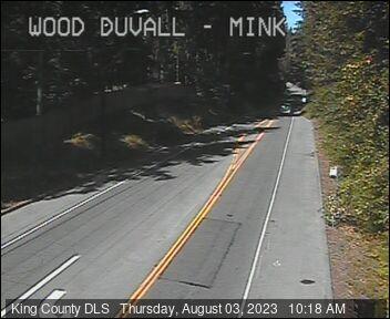 Traffic camera: NE Woodinville-Duvall Road at Mink Road NE - Northwest corner