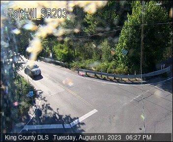 Traffic camera: NE Tolt Hill Road at SR-203