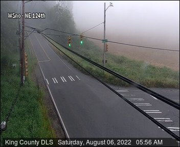 Traffic camera: West Snoqualmie Valley Road N.E. at N.E. 124th St.